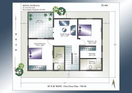 30 x 40 west facing house plans first floor