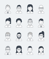 User Avatar Icons By Users Insights Free Download Like Free