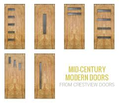 mid century modern garage doors with windows. Mid-century Modern Doors With Windows Mid Century Garage