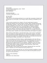 Cover Letter Sample For Graphics Designer Upwork Help Within Cover