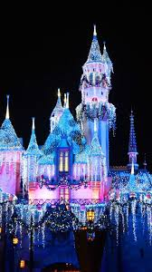 Disneyland, beautiful castle, colorful ...