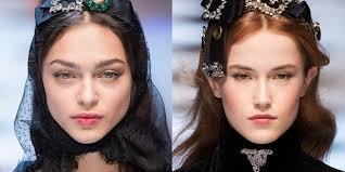 vine effect the best beauty looks from london and milan fall 2017 runway hair makeup clara