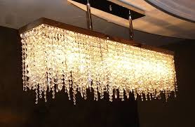 rectangle crystal chandelier awesome modern rectangle crystal chandelier contemporary