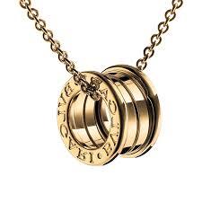 uk bvlgari b zero1 necklace yellow gold 4 band pendant cl857831 replica