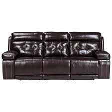 ashley power recliner sofa. Signature Design By Ashley Graford Power Reclining Sofa W/ Adjustable Headrest - Item Number: Recliner P