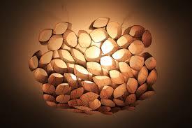 diy ceiling lighting. DIY: Coffee Sleeve Ceiling Shade (or \ Diy Lighting G