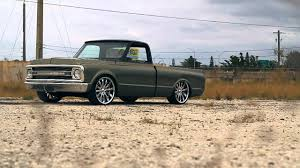 Andy's Bagged Chevy C10 - YouTube
