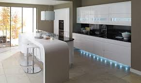 lighting schemes. the carefully considered mix of plinth task and interior cabinet lighting creates a flexible scheme schemes