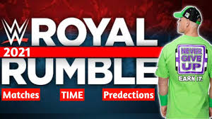 WWE Royal Rumble 2021 Date And Time | Royal Rumble 2021 Officially Match  Card