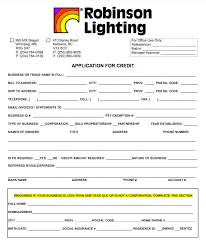 Wholesale Credit Application Trade Program Wholesale Pricing Robinson Lighting Centre