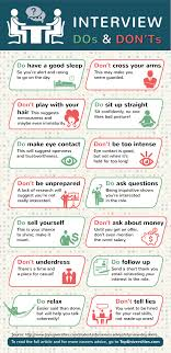 job interview dos and don ts infographic entrevistas de job interview dos and don ts infographic entrevistas de trabajo cosas