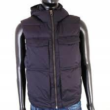 Details About T Zara Man Mens Vest Warmed Hood Black Size M Show Original Title