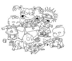 Small Picture Free Printable Rugrats Coloring Pages For Kids