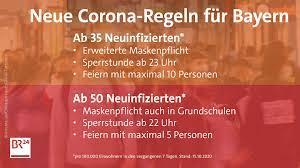 In bayern wird der katastrophenfall ab montag aufgehoben. Neue Corona Einschrankungen In Bayern Die Regeln Im Uberblick Br24