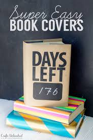 diy book cover ideas quick easy crafts unleashed book cover ideas