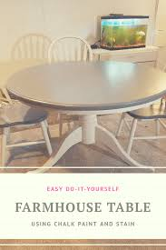 How To Stain A Kitchen Table And Chairs Lily Sparkle Creations