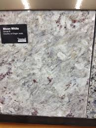 Moon White granite, very much like Kashmir White but less speckly and more  swirly.