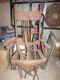 picture of restoration 1878 platform glider rocking chair