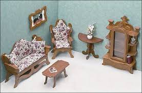 miniature furniture cardboardwood routers. Miniature Furniture Cardboardwood Routers. Unfinished Dollhouse - Living Room Routers E R