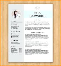 Free Resume Layout Template Enchanting Lovely Best Free Resume Templates Word Template Ideas On Cv Document
