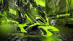 mclaren p1 fantasy transformer car