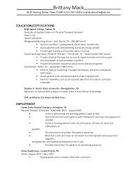 Aba Therapist Resume Samples - Contegri.com