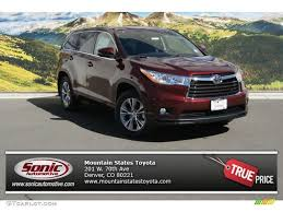 2014 Moulin Rouge Mica Toyota Highlander LE AWD #91754601 ...
