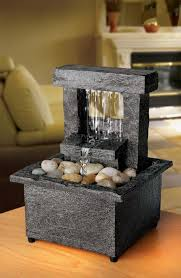 table water fountain. diy battery operated tabletop water fountain great home decor table