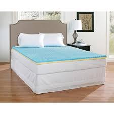 novaform serafina collection 3 gel memory foam mattress topper with tricomfort technology. full gel memory foam mattress topper novaform serafina collection 3 with tricomfort technology m