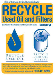 please call the drop off location prior to bringing your used oil filter to ensure the is open bring the used oil and filter to a collection center