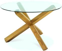 glass top oak dining table designs oak dining table round glass top regarding contemporary