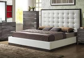 soflex aubriella rustic gray white vinyl king bedroom set 3pcs contemporary order