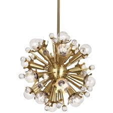 astounding inspiration brass sputnik chandelier john salibello large