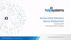 Securely Deploying Ibms Access Client Solutions Acs