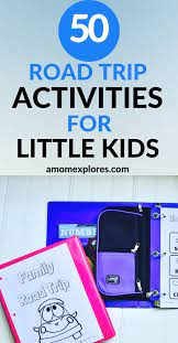 50 road trip activities for toddlers