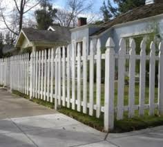 fabulous white color small home. Fabulous White Wood Fence Designs For Incredible Home Ideas Using Soft Blue Wall Color Small B
