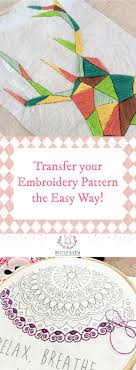 Diy embroidery patterns