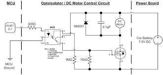 ece 4760 the autonomous driving car to get a sense of the level of impact that the pwm has on the motor we measured the voltage across the dc motor for a given ocr2a value which controls the