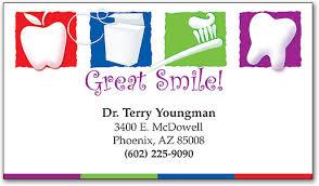 dental visiting card design great smile dental restix business card