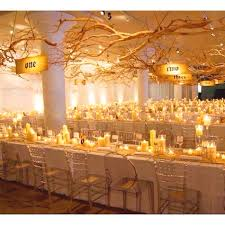 marquee lighting ideas. two simple elements of hanging branches and masses candles for a maximum impact marquee decoration lighting ideas