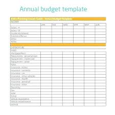 Sample Budget Plan For Non Profit Sample Budget Template