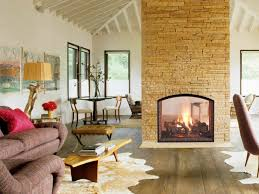 Living Room With A Fireplace 20 Gorgeous Two Sided Fireplaces For Your Spacious Homes
