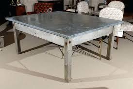 zinc top coffee table brilliant zinc top bistro table several ideas of zinc table top that zinc top coffee table