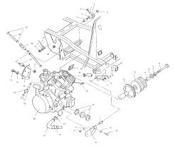 Diagram of snowmobile engine polaris trail boss x w mounting parts best oem mounting full