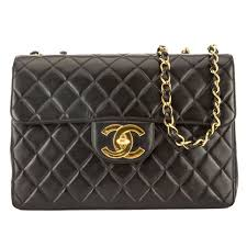 Pre-owned CHANEL Maxi Classic Flap Bag (black Lambskin Leather) | eBay & Chanel Black Quilted Lambskin Leather Maxi Classic Flap Bag (Pre Owned) Adamdwight.com