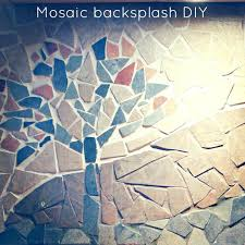installing mosaic tile backsplash a tutorial on how to make a mosaic by installing glass mosaic installing mosaic tile