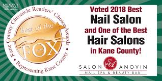 voted 2018 best nail salon and one of the best hair salons in kane county illinois