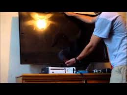 uninstall flat screen tv off wall