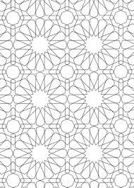 Small Picture Islamic Pattern coloring page Free Printable Coloring Pages