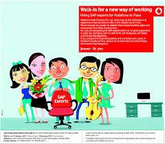 Jobs Vodafone Bangalore 01 12